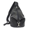 <strong>Piel Leather</strong> Fashion Avenue Three-Zip Hobo Sling Backpack