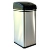 13 Gallon Deodorizer Stainless Steel Automatic Touchless Trash Can with Carbon Filter Technology
