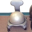 Cando Plastic Mobile Ball Chair