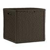 Suncast 60 Gallon Resin Cube Deck Box
