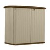 Suncast 6 ft. W x 2.5 ft. D Resin Storage Shed