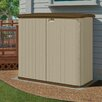 "Suncast 5'10.5"" W x 2'7.5"" D Resin Storage Shed"
