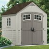 Suncast Cascade 7.5ft. W x 7ft. D Resin Storage Shed