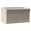 Suncast 129 Gallon Resin Deluxe Deck Box