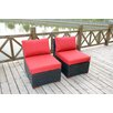 Bellini Home and Garden Pasadina Deep Seating Chair with Cushions (Set of 2)