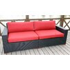 Bellini Home and Garden Pasadina Deep Seating Sofa with Cushions