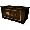 Dream Toy Box Espresso Toy Box With Shadow Bold Font