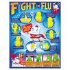 TREND ARGUS Fight The Flu Learning Chart, 12/Pack