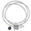 LogoArt® Seattle Seahawks Super Bowl XLVIII Champions Triple Bangle Bracelet