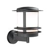 <strong>PLC Lighting</strong> Tusk 1 Light Outdoor Wall Sconce