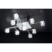 <strong>D'oro 9 Light Semi Flush Mount</strong> by PLC Lighting