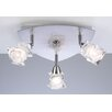 Avatar 3 Light Semi Flush Mount