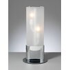 """PLC Lighting Flambeau 17.5"""" H Table Lamp with Drum Shade"""