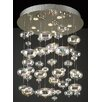 PLC Lighting Bubbles 6 Light Pendant