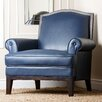 Abbyson Living Kendle Leather Armchair