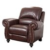 <strong>Abbyson Living</strong> Charlotte Leather Club Recliner
