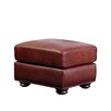<strong>Abbyson Living</strong> Harbor Premium Semi-Aniline Leather Ottoman