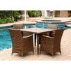 <strong>Palermo 5 Piece Dining Set</strong> by Abbyson Living