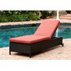 Abbyson Living Ventura Chaise Lounge with Cushion