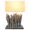 "Bellini Modern Living Twigs 26"" H Table Lamp with Rectangular Shade"