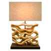"Bellini Modern Living 26.7"" H Table Lamp with Rectangular Shade"
