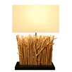 "Bellini Modern Living Twig 22"" H Table Lamp with Rectangular Shade"