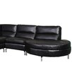 Bellini Modern Living Riley Leather Sectional (Set of 2)