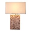 "Bellini Modern Living 22"" H Table Lamp with Rectangular Shade"