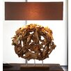 "Bellini Modern Living 36"" H Table Lamp with Rectangular Shade"