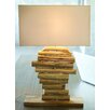 """Bellini Modern Living 23"""" H Table Lamp with Rectangular Shade"""