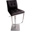 Bellini Modern Living Ferrera Adjustable Height Swivel Bar Stool with Cushion