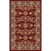 Tayse Rugs Sensation Red Oriental Rug