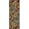 Tayse Rugs Impressions Blue Floral Area Rug