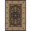 Tayse Rugs Sensation Black Oriental Rug