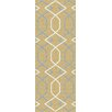 Tayse Rugs Metro Yellow Geometric Rug