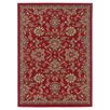 <strong>Tayse Rugs</strong> Laguna Red Oriental Rug 3 Piece Set