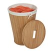 Honey Can Do Bamboo Hamper with Lid