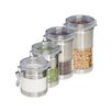 Honey Can Do 4 Piece Canister Set II