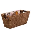 Honey Can Do Seagrass Basket with Handles
