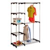 "<strong>19.7"" Deep Double Rod Freestanding Closet</strong> by Honey Can Do"