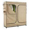 "Honey Can Do 64""H x 60""W x 19.7""D Portable Cloth Storage Wardrobe with Shoe Organizer"