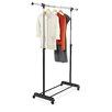 Honey Can Do Expandable Garment Rack in Black and Chrome