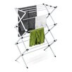 <strong>Honey Can Do</strong> Deluxe Metal Drying Rack in Silver