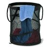 "Honey Can Do 14"" x 19"" Black Medium Mesh Pop Open Hamper"