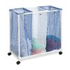 <strong>3 Bag Mesh Rolling Hamper</strong> by Honey Can Do