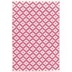 Dash and Albert Rugs Samode Fuchsia Pink Indoor/Outdoor Area Rug