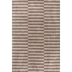 Dash and Albert Rugs Marled Ladder Graphic Brown Area Rug