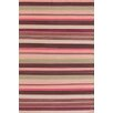 Dash and Albert Rugs Razz Stripe Wool Woven Area Rug