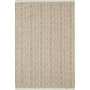 Dash and Albert Rugs Fair Isle Ocean/Coffee Area Rug