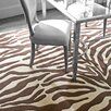 <strong>Dash and Albert Rugs</strong> Tufted Zebra Rug